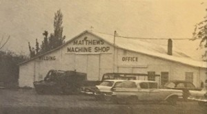 Matthews Industries - 1959 building enlargement