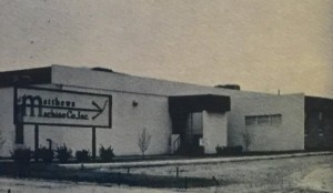 Matthews Machine Shop - 1969